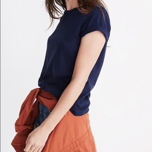 🔺4 FOR $20🔻 Madewell Navy Northside Vintage Tee